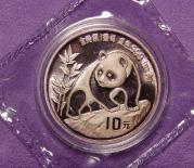 パンダ銀貨